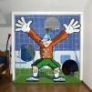 Torwand Kinderzimmer 2009